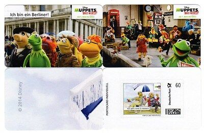 Portocard Individuell, MUPPETS 2, offizielle Postmotive! 1x 60cent!