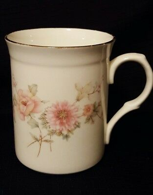 Crown Trent Fine Bone China floral cup mug Staffordshire England