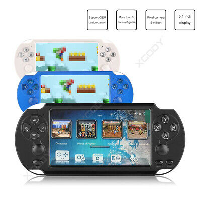"""XGODY 2018 4.3"""" PSP Handheld Game Console X7 Video Game Player Free Retro Games"""