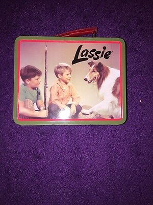Vintage Lassie Reproduction Tin Lunch Box