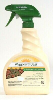 Whitney Farms Weed & Grass Killer Safe for Kids & Pets 32oz Bottle