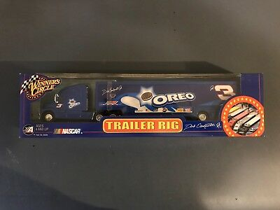 Dale Earnhardt  Jr #3 Oreo car hauler winner circle new