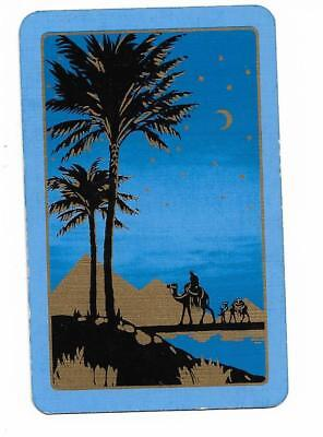 Pyramids Under The Stars X 1 Only Single Vintage Playing/swapcard
