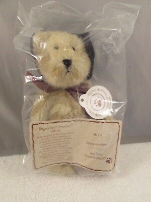 "New  Boyds Bears  ""Olivia Heartlee""  7"" Plush Bear"