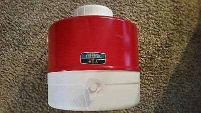 THERMOS Picnic 2 Gallon Jug Vintage 1960's Camping Party Travel Plastic