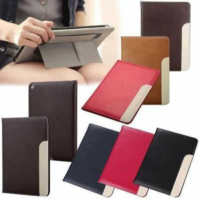 Smart Leather case cover HANDLE for iPad 5th 6th Gen 2 3 4 5 6 AIR MINI PRO 12.9