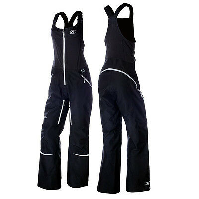 Klim Alpine Womens Snowmobile Cold Weather Protection Tall Size Snow Bibs