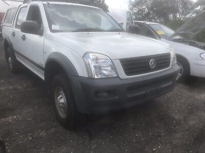 Wrecking A Holden Rodeo Ra 2005