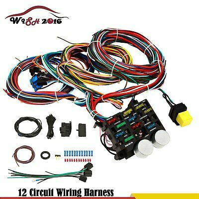 Wire 12 Circuit Wiring Harness For Chevy Mopar ez wiring 12 circuit hot rod wiring harness $175 00 picclick