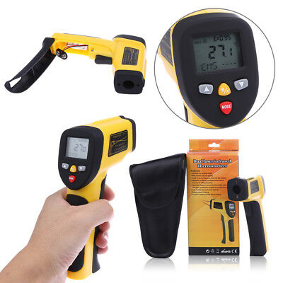 LCD Non-Contact Dual Laser IR Digital Temperature Gun +Body Forehead Thermometer