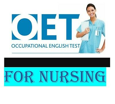 OET OCCUPATIONAL ENGLISH TEST FOR NURSING  UK PDF SAMPLE ONLY  FOR Writing
