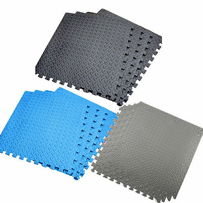 Interlocking Eva Soft Foam Exercise Floor Mats Gym Garage Office Kids Play Mat Y