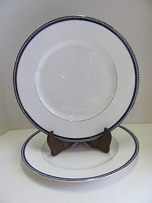 2 Royal Worcester Avalon Firenze Dinner Plate Fine Bone China 10-5/8""
