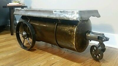 Steampunk coffee table