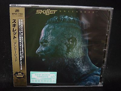 SKILLET Unleashed + 2 JAPAN CD Seraph Urgent Cry Christian Hard Rock/Nu Metal !