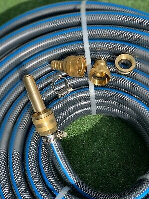 "Garden Water 50M Durable Hose 18MM / 3/4"" Heavy Duty Free Delivery For 10 Days"
