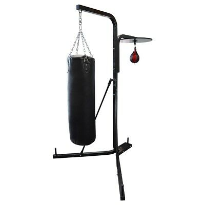 Boxing Bag Stand / Speedball Bracket + 30kg Punching Bag and Speedball Package