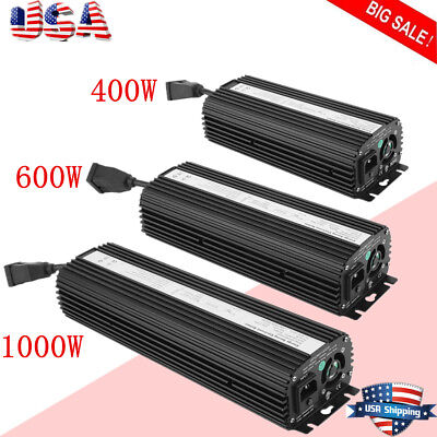 Digital Dimmable Ballast 1000W 600W 400W Grow Light 120/240 HPS MH BIG SALE LOT
