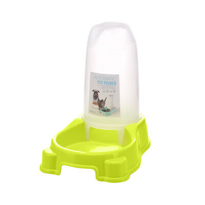 1 Automatic Pet Feeder Dispenser Waterer Dog Cat Self Feeding Food Water Bowl