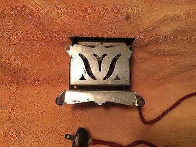 Antique Childs Toaster Excel 1920's electric Art Deco style