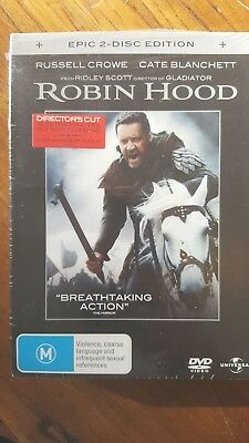 Robin Hood [2 DVD Set] NEW & SEALED, Region 4, FREE Next Day Post from NSW
