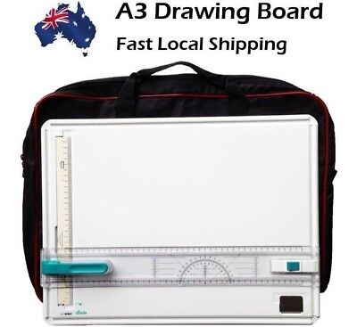 A3 Drawing Board high quality with Free Bag & Set Square worth $30 Nobel Brand