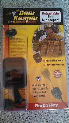 Gear Keeper Retractable Fire Mic Keeper RT2-4022 Stud M, Firefighter Tools