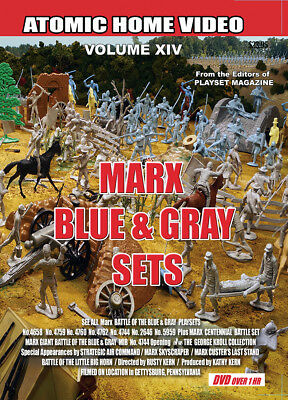 Marx The Blue & Gray Playsets DVD