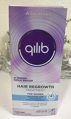 qilib Hair Regrowth Treatment for Women Unscented Minoxidil for Hair Loss