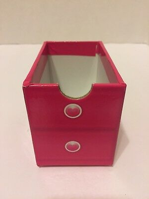 Calico Critters Carry Play House Carry  Case 1 DRAWER Pink Replacement Part✔️