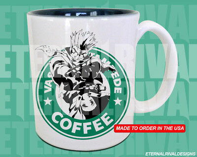 Vash Trigun Starbucks Anime Manga Japanese Insipred Cartoon Geek Nerd Mug