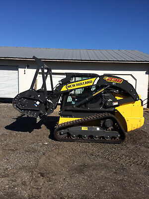 2017 New Holland C238 Skid Loader W/attachments