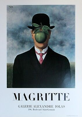 Rene Magritte Lithograph Galerie Alexandre Iolas First Edition 1978