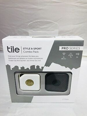Tile Style & Sport Bluetooth Item Tracker Combo Pack Model : RT-14002-EU