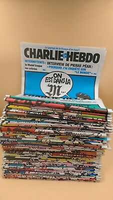 COMICS magazines french charlie hebdo set of 121 TBE cabu and other no.2 a 558