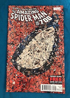 Amazing Spider-Man #700 - Death Of Peter Parker Last Issue-NM/Near Mint-2013!!!
