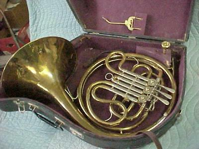 Vintage YORK Single French Horn, Ready to Play Condition