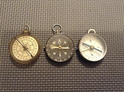 Vintage Compasses—Lot of 3—Boy Scouts, DOXA, Germany