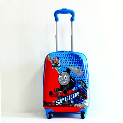 New Kid Wheeled Rolling Suitcase Travel Bag Luggage Trolley ( 4-Wheel Thomas )