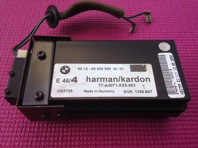 2000-2005 BMW Harmon Kardon Subwoofer Amplifier Amp HS3759