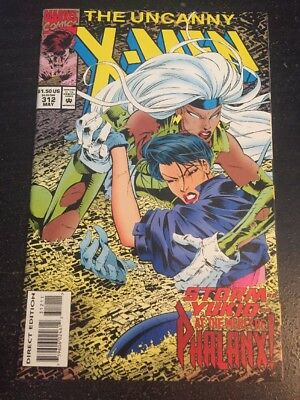 Uncanny X-men#312 Incredible Condition 9.4(1994) Madureira Art, Phalanx!!