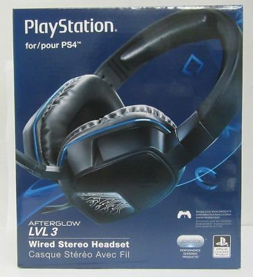 Afterglow - PDP Afterglow LVL 3 Wired Stereo Gaming Headset - Black