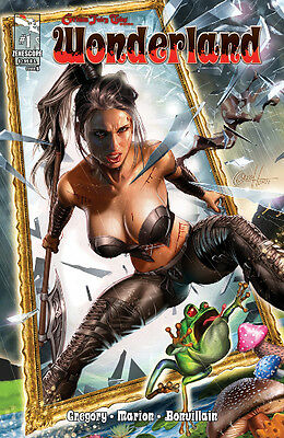 Zenescope GRIMM FAIRY TALES GFT Wonderland Issue #1 Cover B Greg Horn cover B
