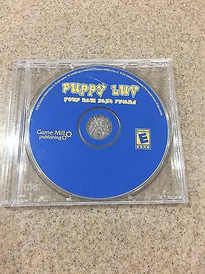 Puppy Luv Your New Best Friend - PC CD Computer Game