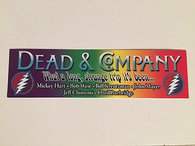 Dead and Company Band Sticker / Bumper Sticker.