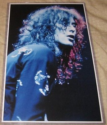 Jimmy Page/led Zeppelin Close Up Shot 11X17 Replica Poster W/protective Sleeve