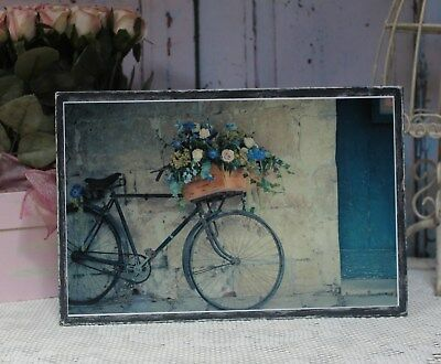 """Vintage Bicycle..."" ~ Shabby Chic Vintage Country Cottage style Wall Decor Sign"