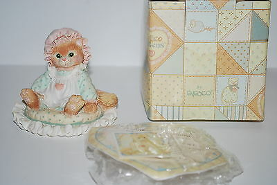 "1992 Calico Kittens ""Just Thinking About You"" - Priscilla w/papers & box -NICE!!"