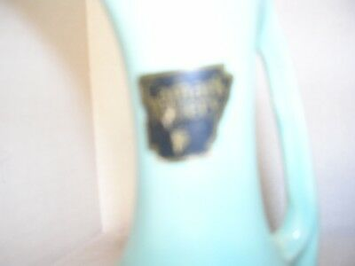 Camark Pottery Aqua Blue Small Pitcher Creamer