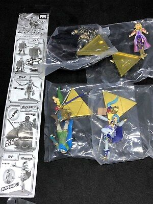 Takara tomy Legend of Zelda Link Musou Gashapon figure set of 4 figures